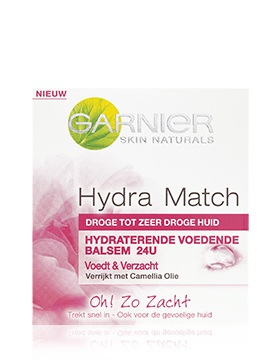 Garnier Skin Naturals Hydra Match Dry to Very Dry Skin - 50 ml - Dagcrème