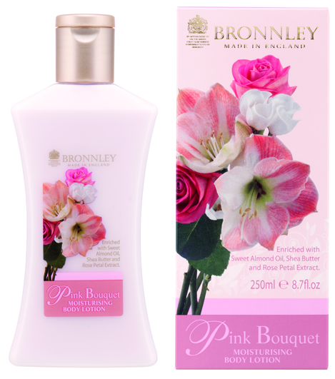 Bronnley Pink Bouquet - 250 ml - Bodylotion