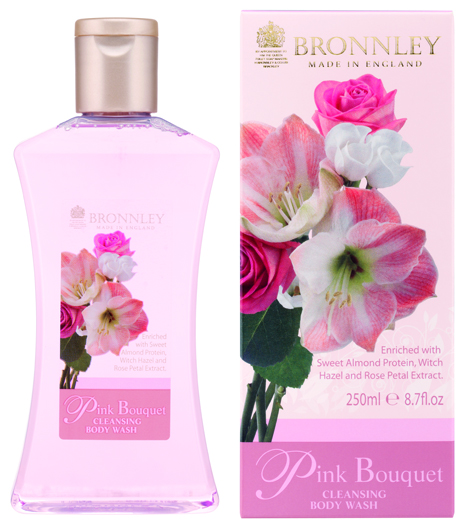 Bronnley Pink Bouquet - Bodywash