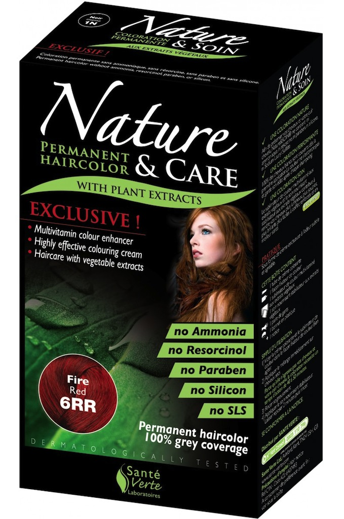 Nature & Care Haarverf  6RR - Vuurrood