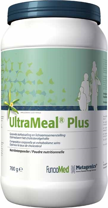 Metagenics UltraMeal Plus 360 Vanille - 728 g