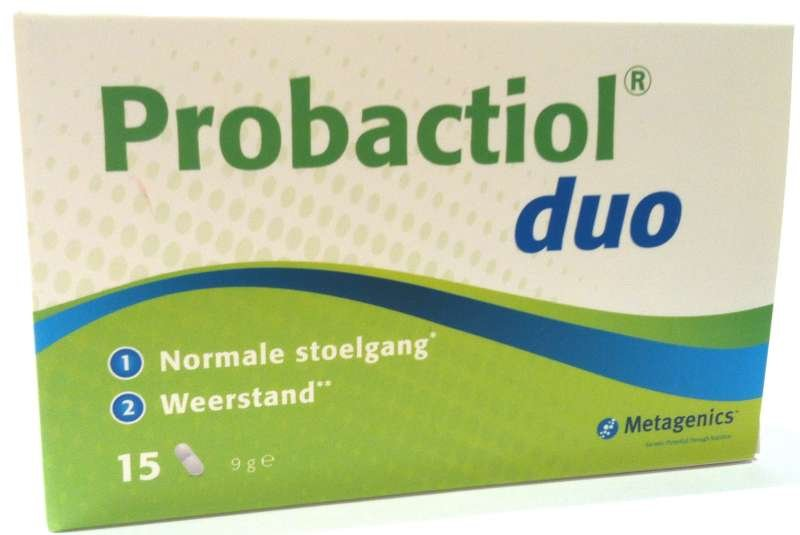 Metagenics Probactiol Duo 15caps