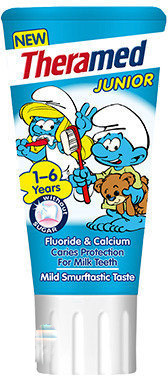 Theramed Junior Bubble Smurf - 50 ml - Tandpasta