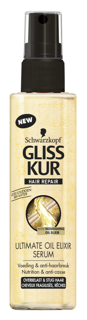 Gliss Kur Ultimate Oil Elixer - 100 ml - Haarserum