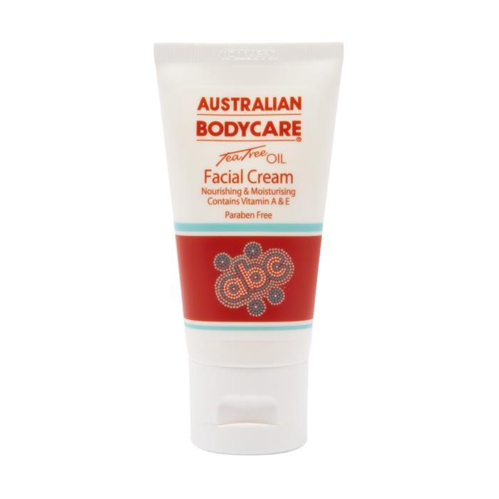 Australian Facial Cream with Tea Tree Oil - 50 ml - Dagcrème