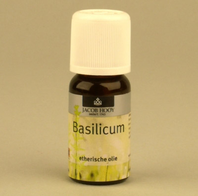 Jacob Hooy - Basilicum - 10 ml - Etherische Olie