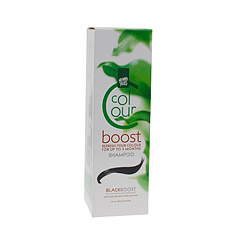 Hennaplus Colour Boost - Black - 200 ml - Shampoo