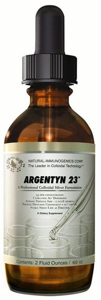 Energetica Natura Argentyn 23 (Dropper Top) - 60ml