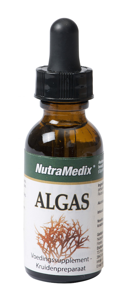 Nutramedix Algas Metal Detox - 30 ml - Voedingssupplement