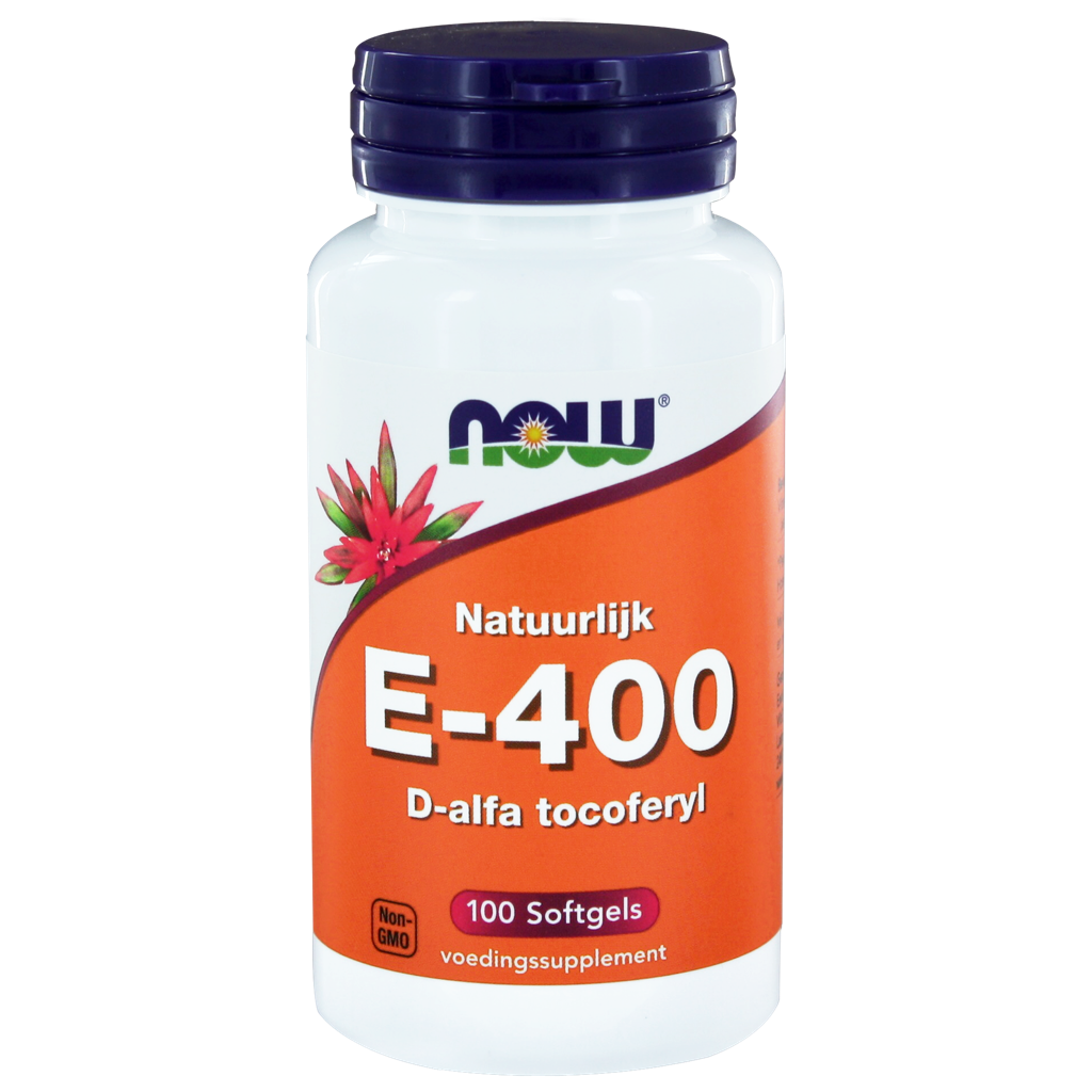Now Vit E 400iu D Alpha Toco 100 st