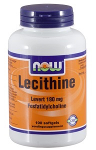 Now Lecithine 1200 mg Softgels 100 st