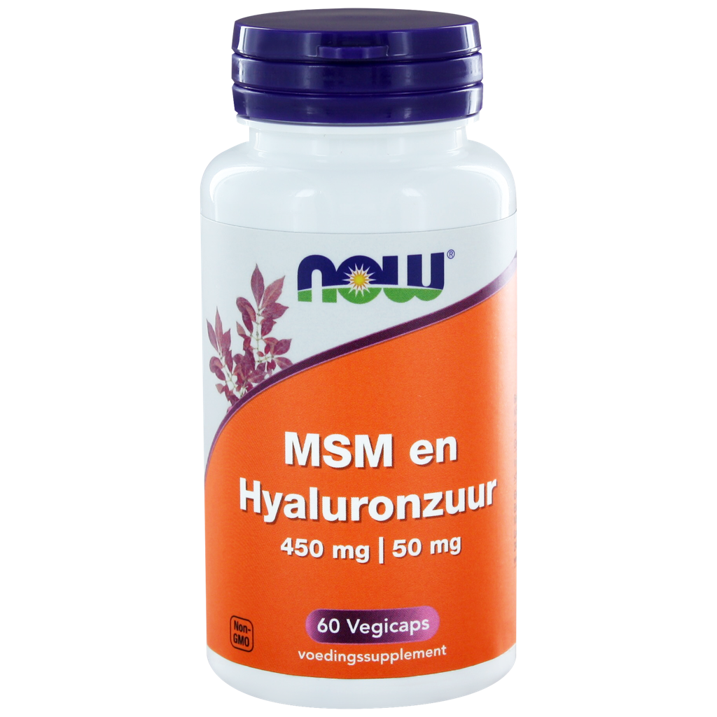 Now Hyaluronic Acid Capsules 60 st