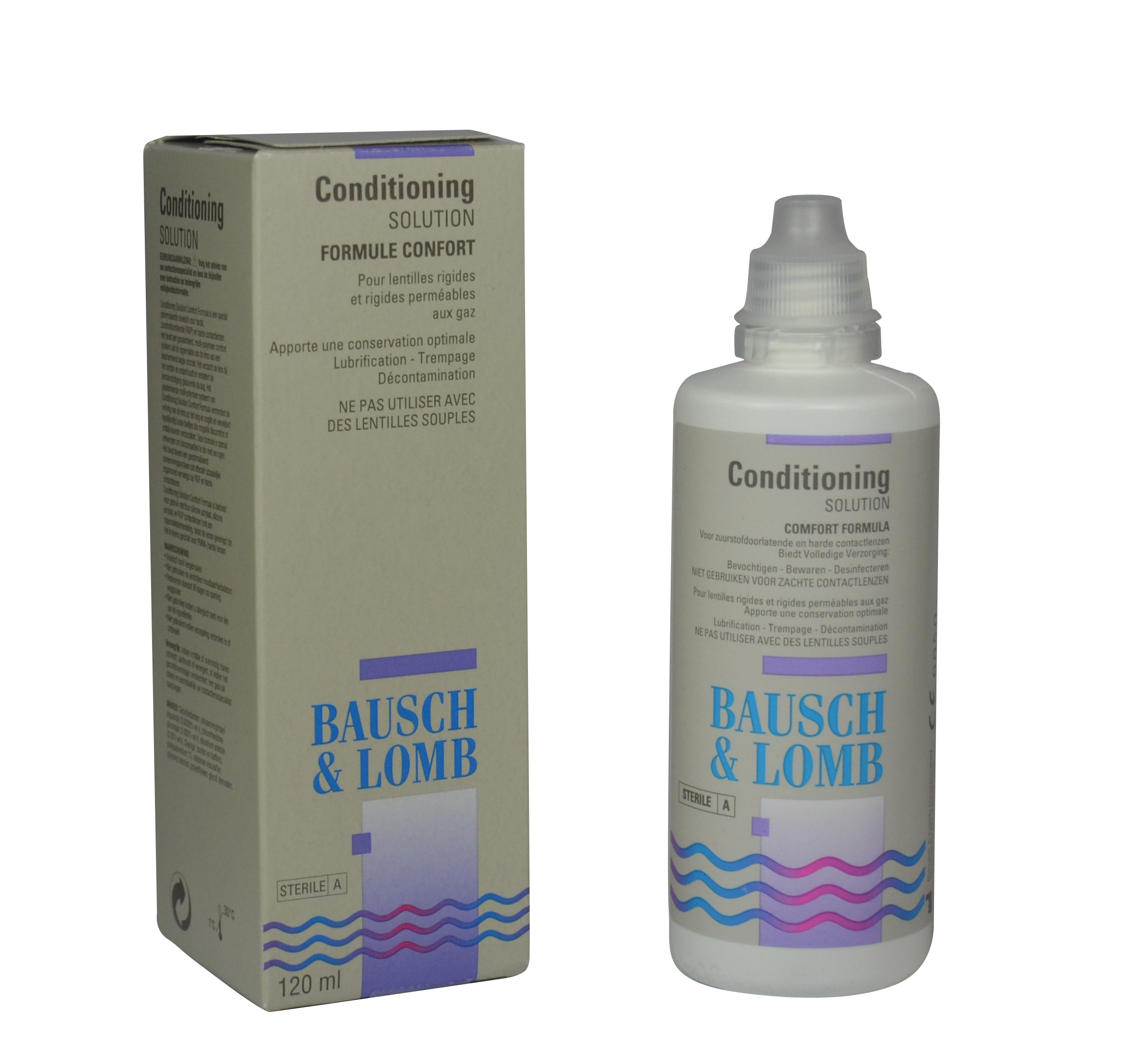 Afbeelding van Bausch & Lomb Conditioning Solution Harde Lenzen 120ML