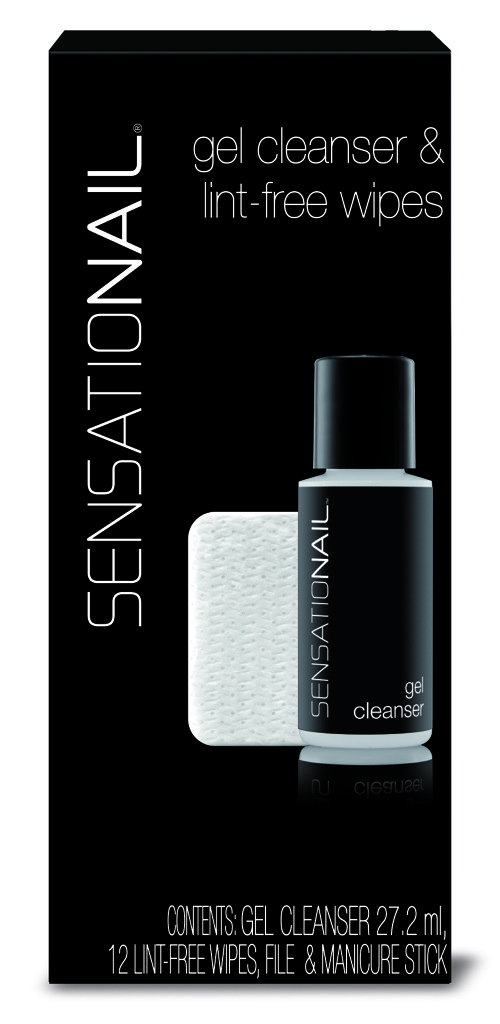 Sensationail Cleanser and Wipes - 27.2 ml - Nagellakremover
