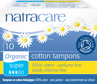Natracare Tampons Super 10st