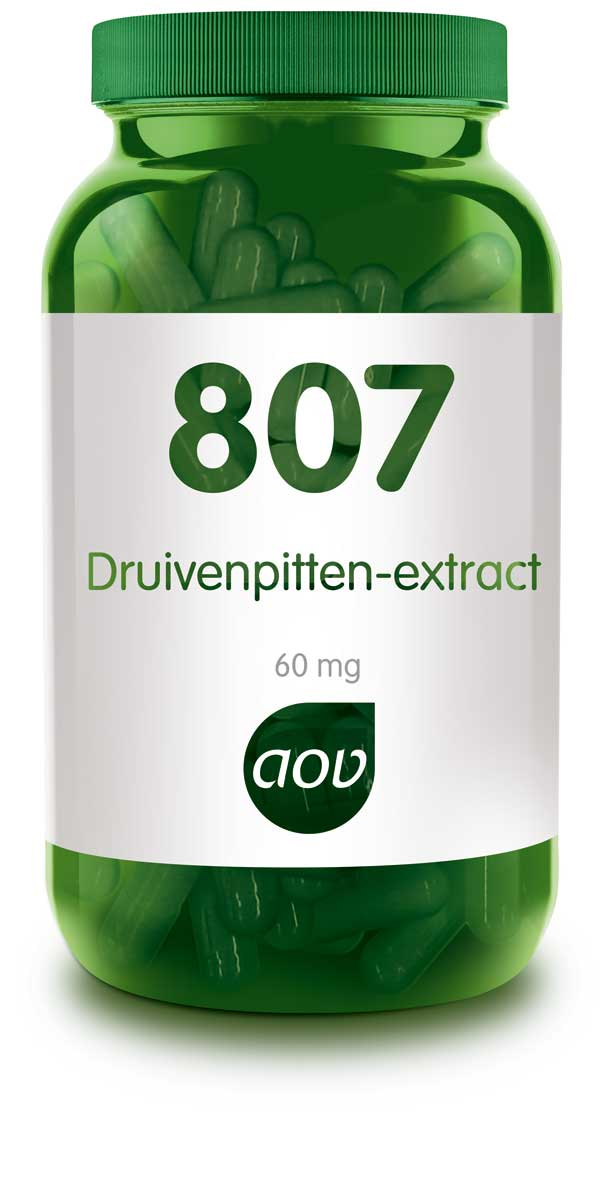 AOV 807 Druivenpitten-extract - 60 Capsules - Voedingssupplement