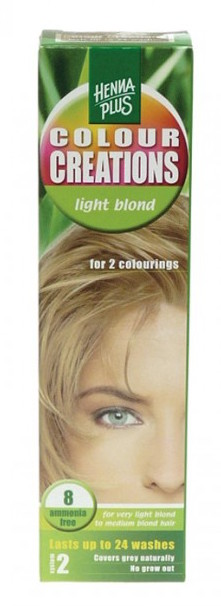 Hennaplus Colour Creations 8 Light Blond