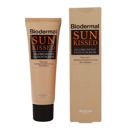 Biodermal Gezichtscreme Sun Kissed  50ml