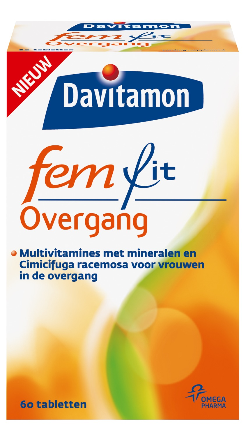 Davitamon Femfit Overgang Multivitaminen - 60 Tabletten