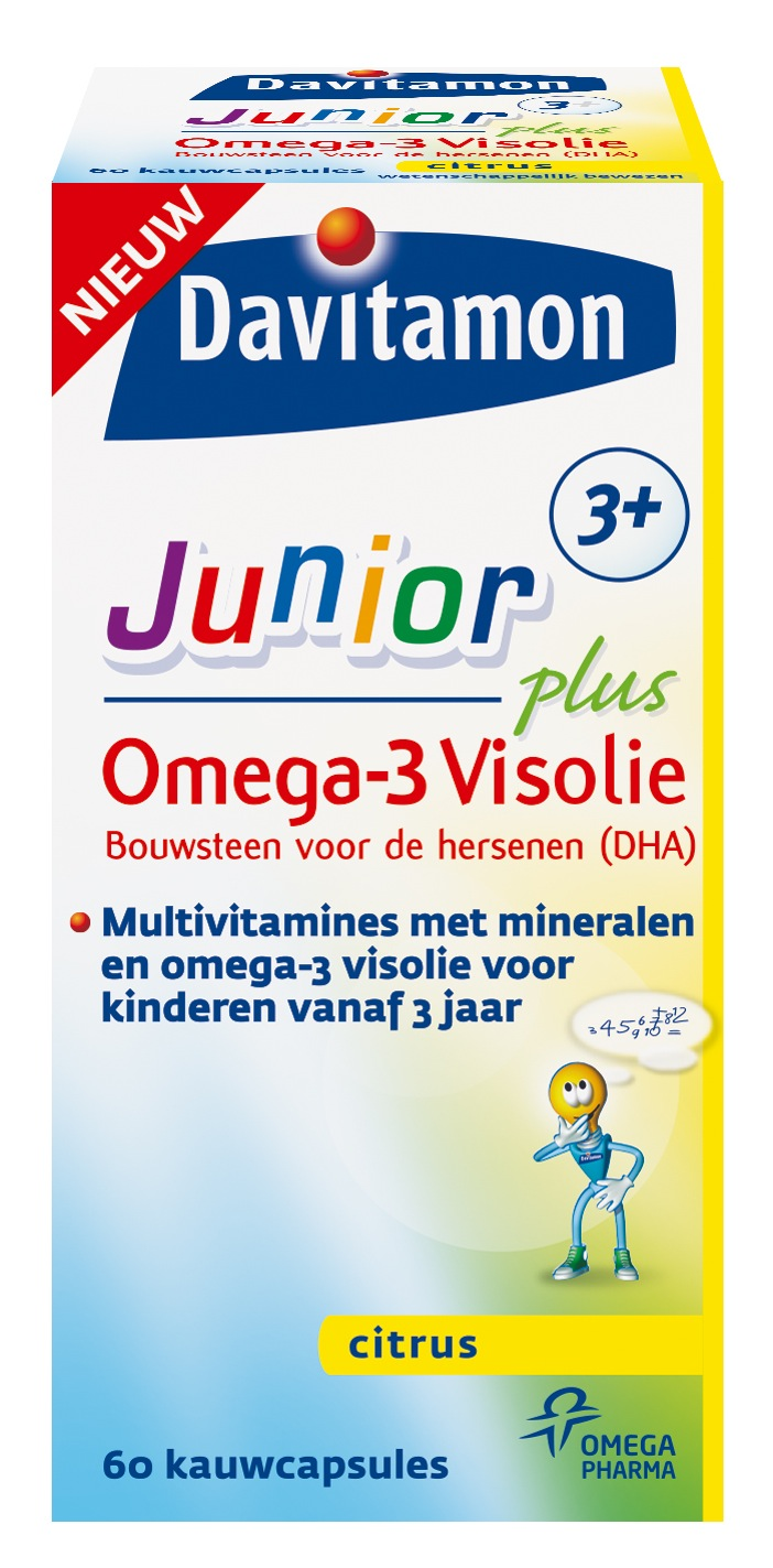 Davitamon Junior 3+ Omega-3 Visolie