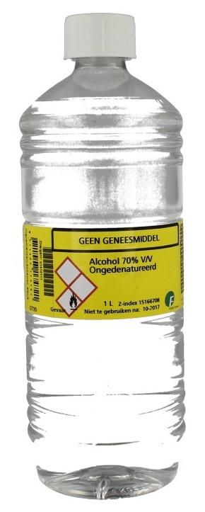 Chempropack Alcohol 70 Zuiver 1000ml