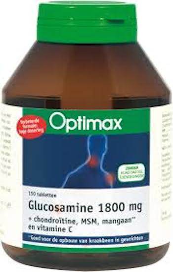 Optimax Voedingssupplementen Optimax Glucosamine 1800 mg 150tab