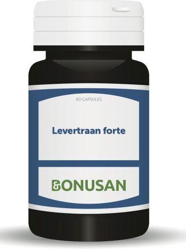 Bonusan Levertraan Forte - 60 Capsules - Voedingssupplement