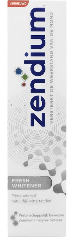 Zendium fresh whitener  - 75 ml - tandpasta