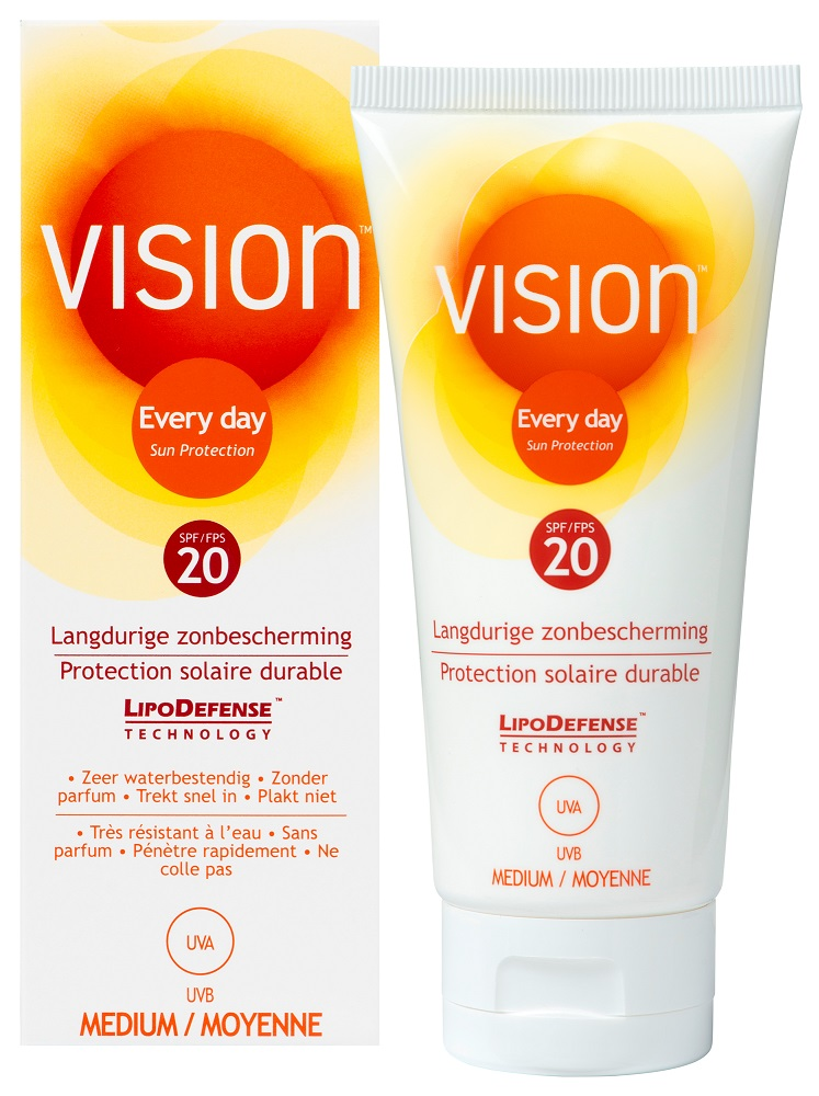 Image of Vision Every Day Sun Protection Zonnebrand Tube SPF20