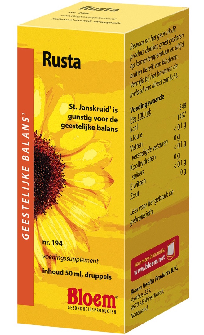 Bloem Rusta - 50 ml - Voedingssupplement