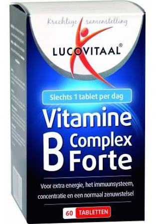 Lucovitaal Vitamine B Complex Forte Tabletten 60st