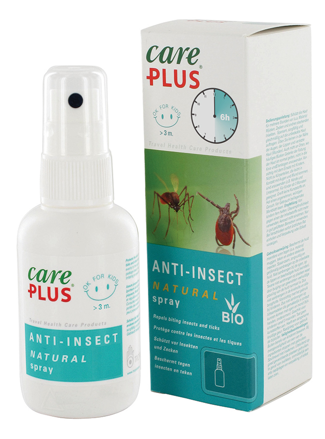 Afbeelding van Care Plus Anti Insect Natural Spray 100ml