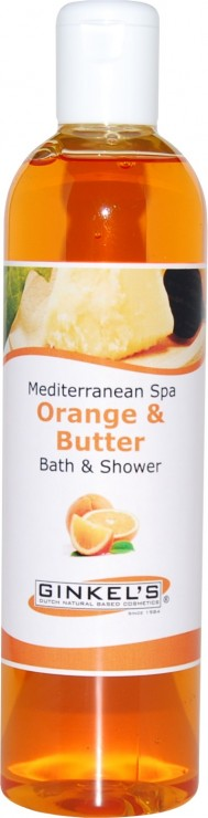 GINKEL'S Bath & shower orange & butter 300ML