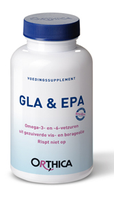 Orthica GLA & EPA - 180 Capsules - Voedingssupplement