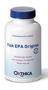 Orthica Fish EPA Original - 60 Capsules - Voedingssupplement