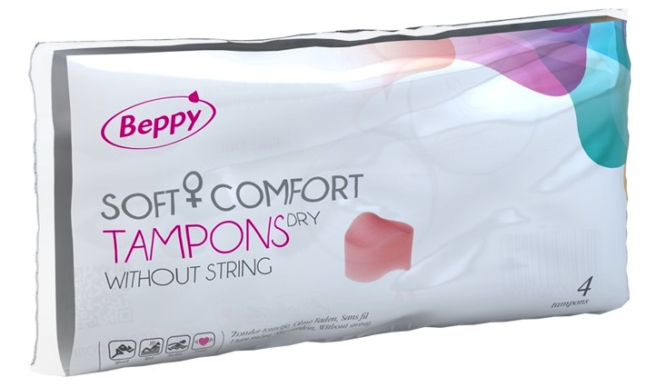 Image of Beppy Soft Comfort Dry Tampons 4st