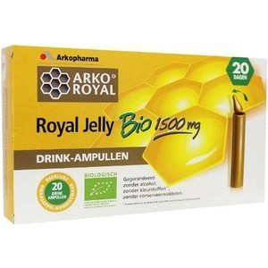 Arkoroyal jelly 1500mg bio.  @ 20 st