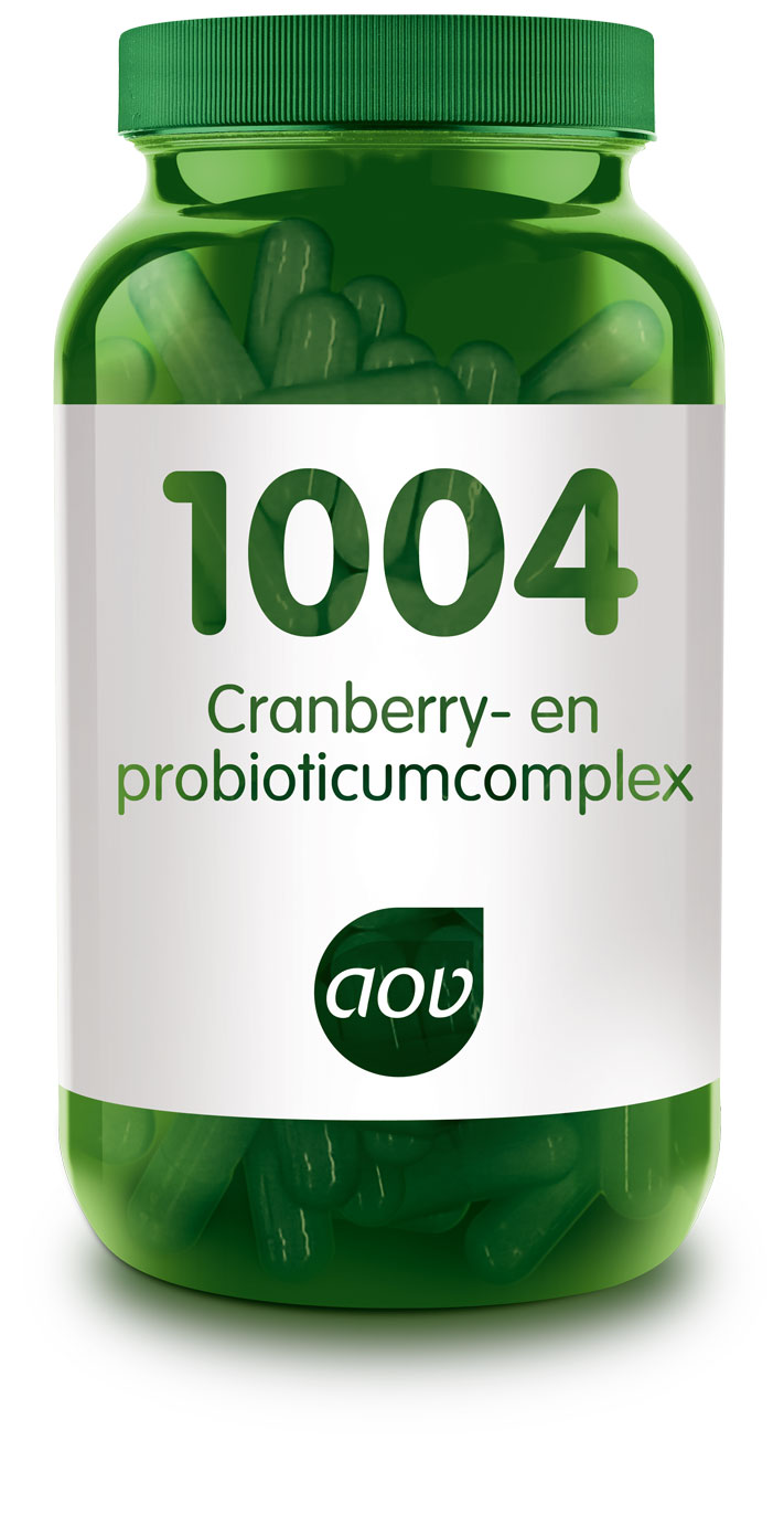 AOV 1004 Blaascomplex - 60 Capsules - Voedingssupplement