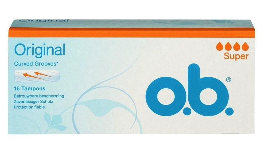 Image of O.B. Tampons Super 16st