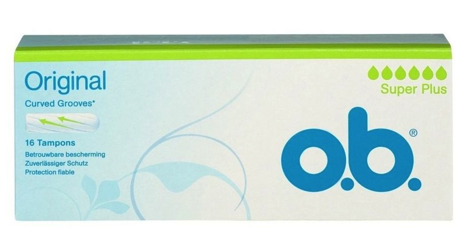 Image of O.B. Tampons Super Plus 16st