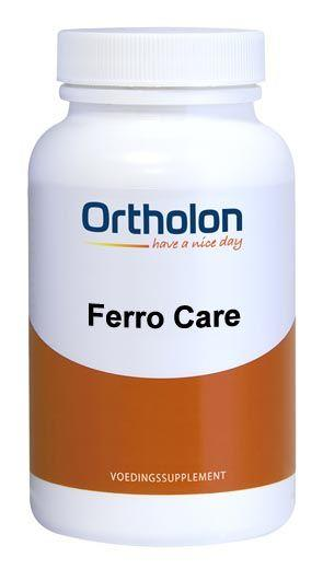 Ortholon Ferro Care - 60 Tabletten