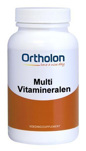 Ortholon Multi Vitamineralen - 30 Tabletten