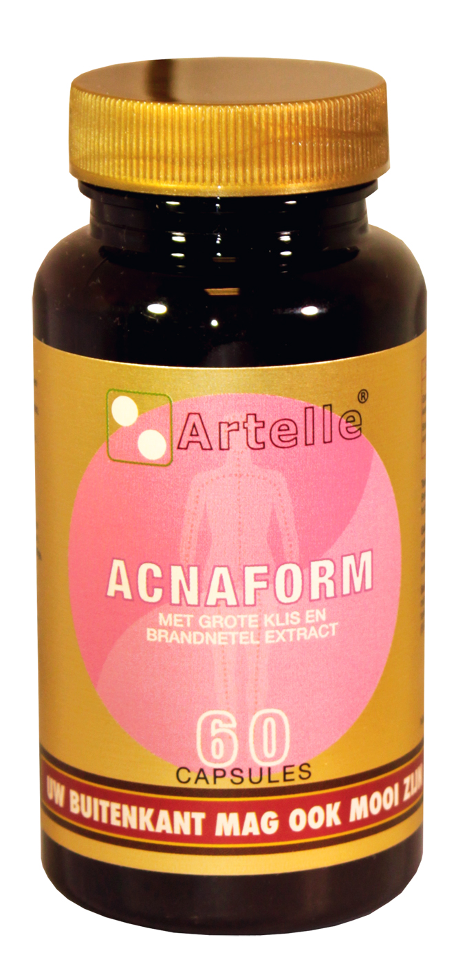 Artelle Acnaform - 60 Capsules - Voedingssupplement