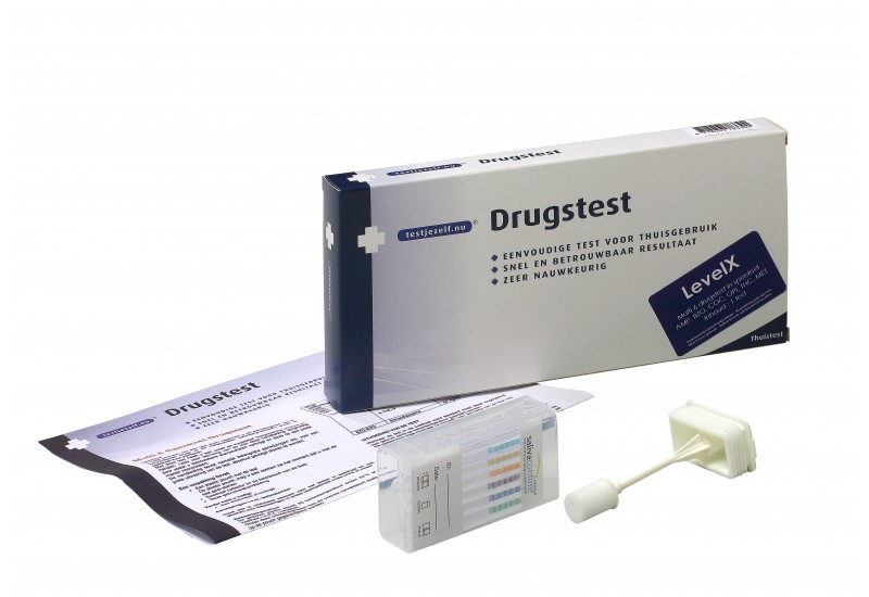 LevelX Speekseltest Drugs - 1 stuk - Drugstest