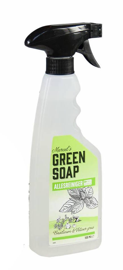 Marcels Green Soap Allesreiniger Spray Basilicum Vetiver Gras