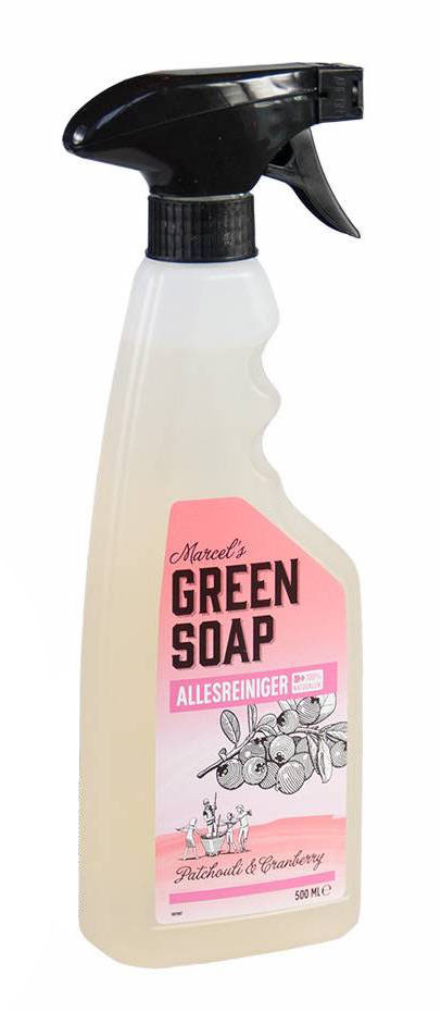Marcels Green Soap Allesreiniger Spray Patchouli Cranberry