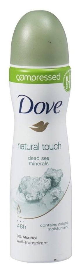 Dove Deodorant Deospray Natural Touch Compressed 75ml