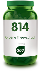 AOV 814- Groene Thee Extract - 60 capsules - Voedingssupplement