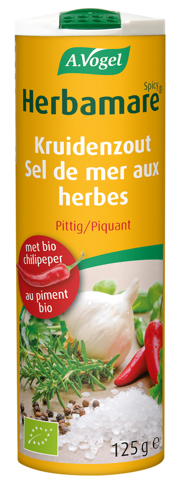 A.Vogel Herbamare Spicy Kruidenzout 125gr