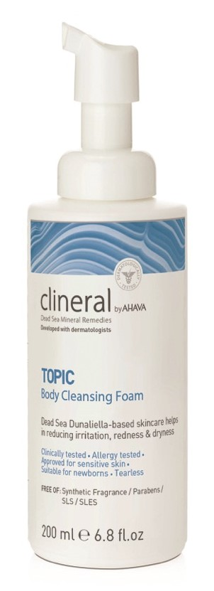 Image of Ahava Clineral TOPIC Body Cleansing Foam